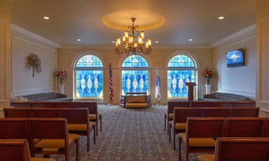 Large chapel at CSNH