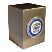 Bronze Veteran Urn