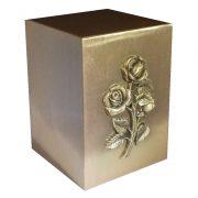 Rose bronze urn