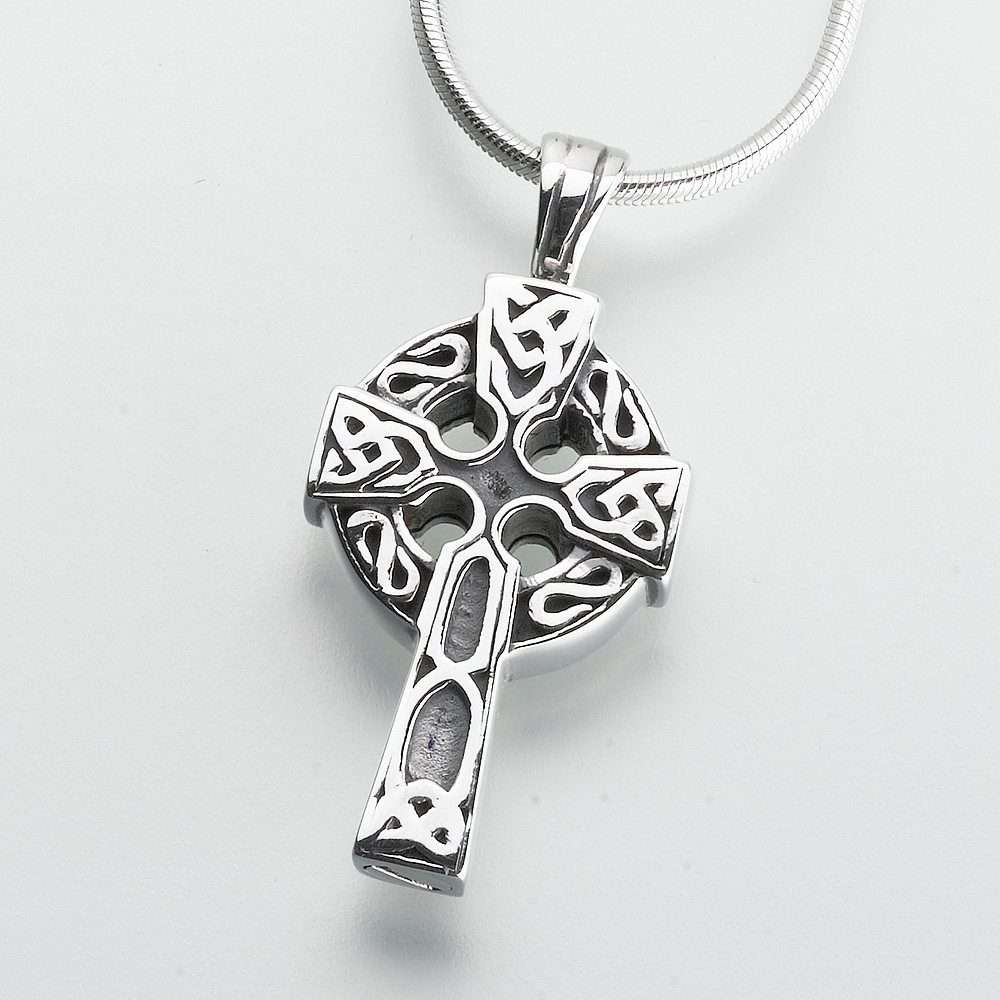 Celtic cross pendant cremation society of new hampshire aloadofball Gallery