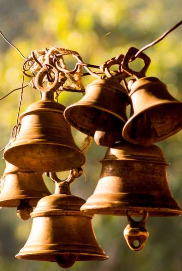 Hindu prayer bells