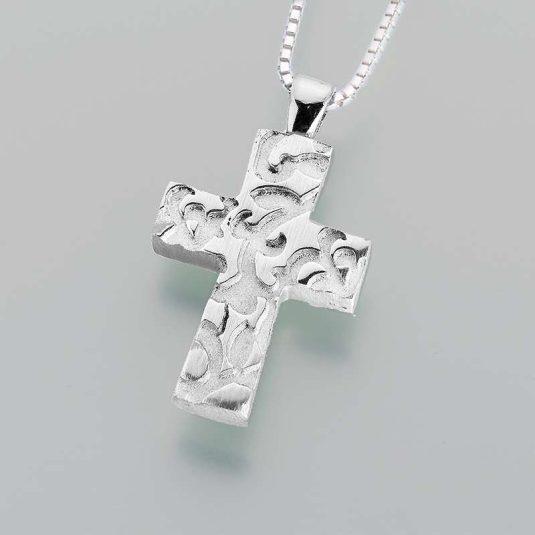 Pewter Cross w/ Filigree Design