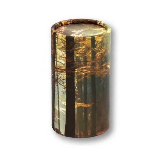 Autumn Woods Biotube Keepsake