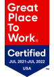 Great Places to Work certification badge